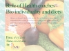Role of Health coaches Bio-individuality and diets